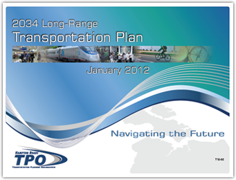 2034 Long-Range Transportation Plan - Click to Download