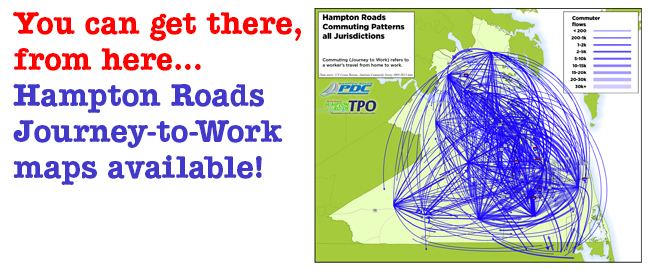 Click to view the HRTPO's Journey-to-Work maps...
