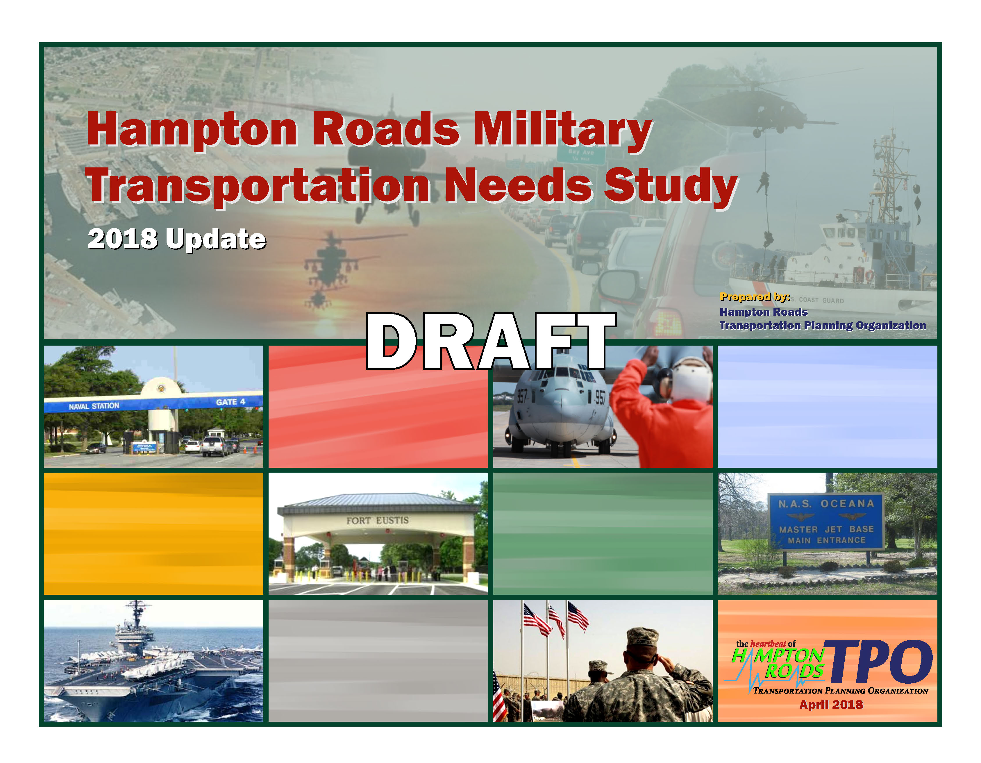 Cover for Hampton Roads Military Transportation Needs Study