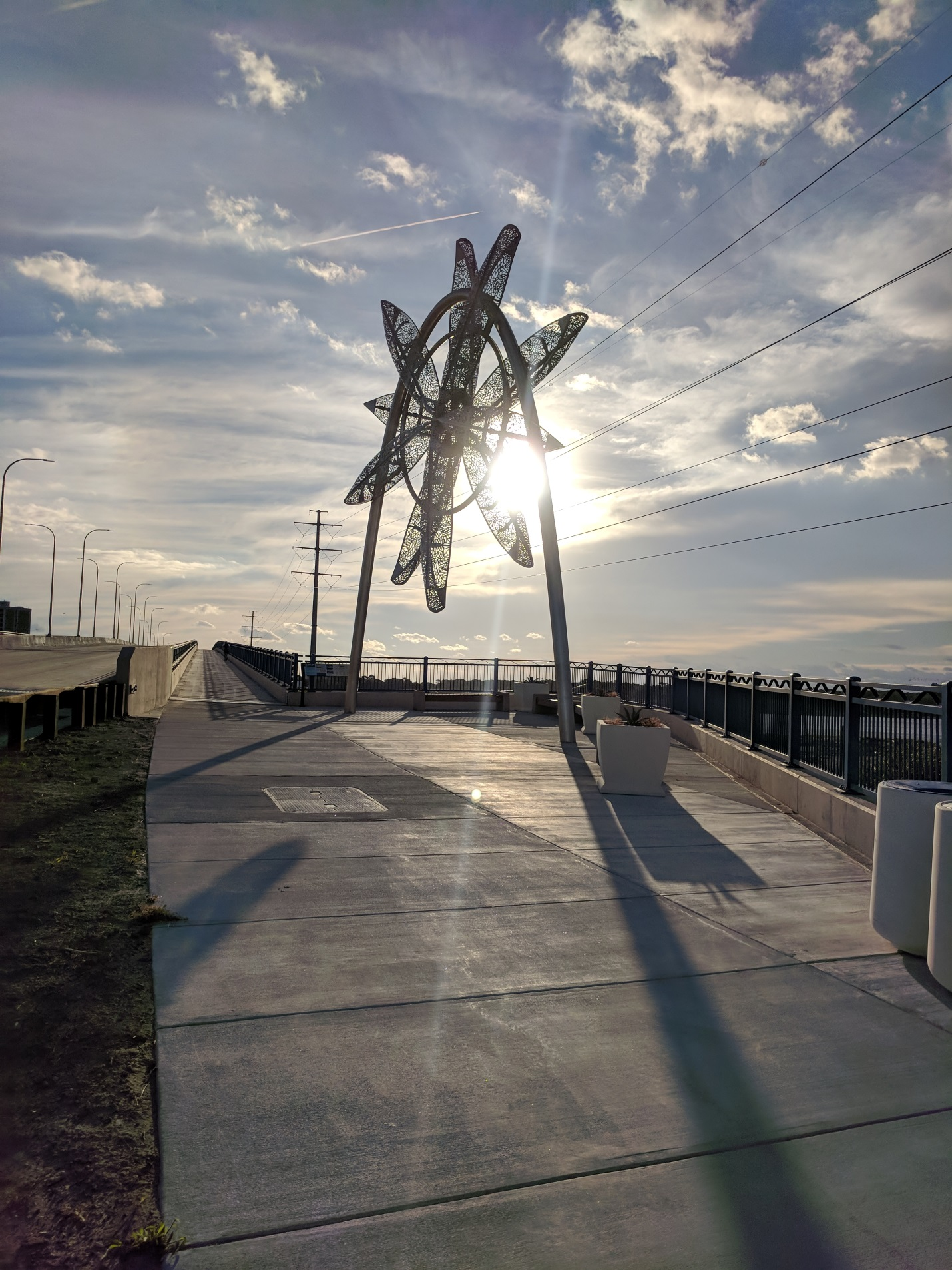 Bike Path on the New Lesner Bridge