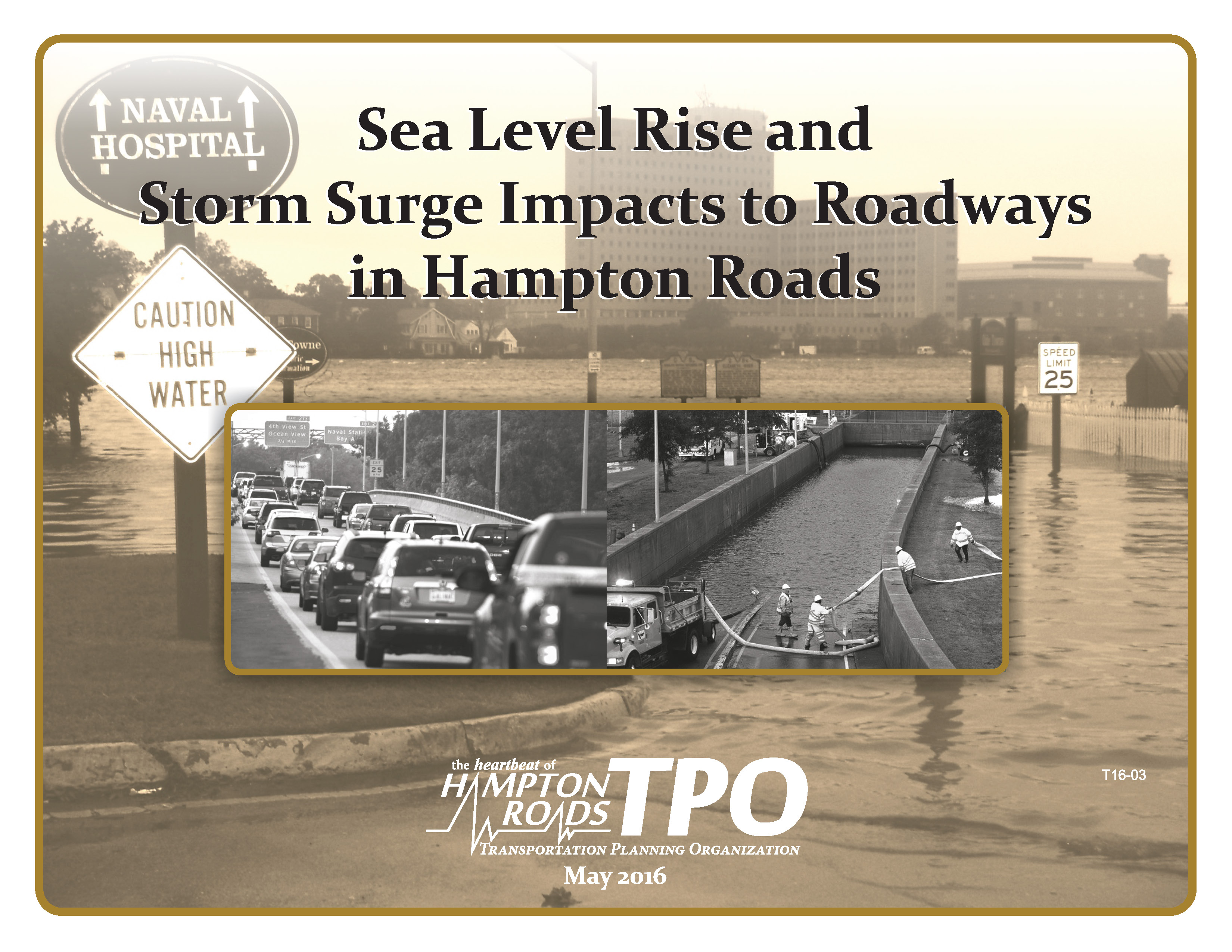 Cover image for Sea Level Rise and Storm Surge Impacts to Roadways in Hampton Roads