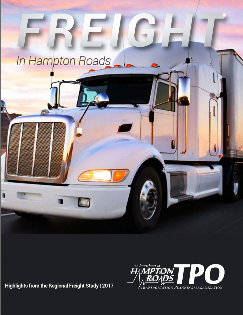 Freight in Hampton Roads Brochure Cover