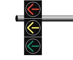 yellow arrow traffic light - photo #32