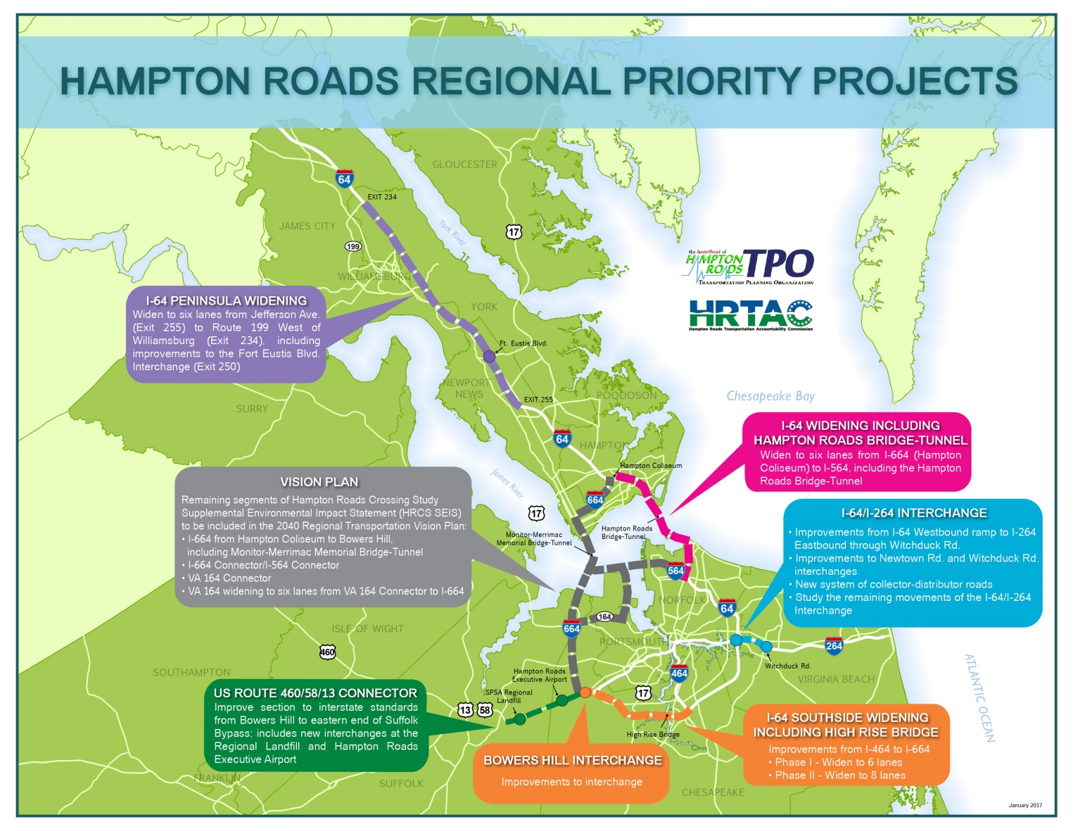 Hampton Roads Regional Priority Projects