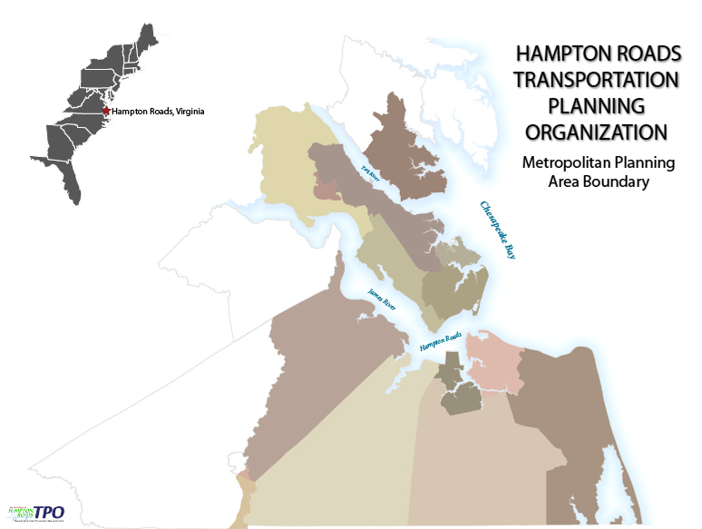 HAMPTON ROADS TRANSPORTATION PLANNING ORGANIZATION - Metropolitan Planning Area Boundary