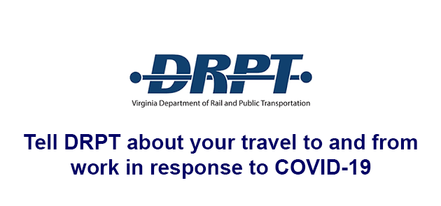 Tell DRPT About Your Commute-DRPT Commuter Survey
