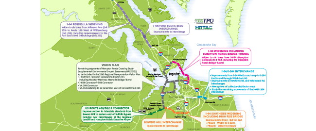 Check out our Hampton Roads Regional Priority Project Maps